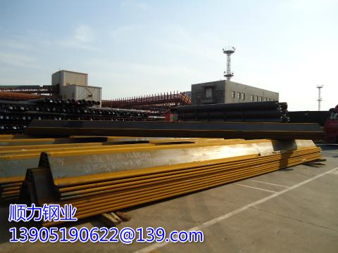 Palplanches en acier Larsen IV de 12 mètres